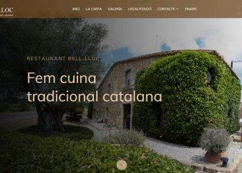 restaurantbell-lloc.com